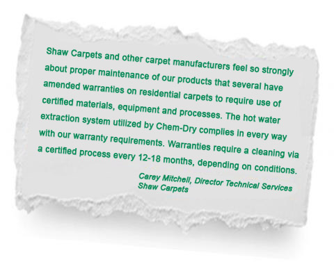 chem-dry-industry-recommendation-shaw-carpets-green